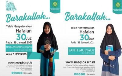 Sekolah Sambil Menghafal Alquran di SMA dan SMP Quranic Science Boarding School